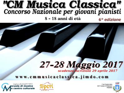 CM musica classica – concorso pianistico