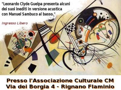 Leonardo Clyde Guelpa in concerto